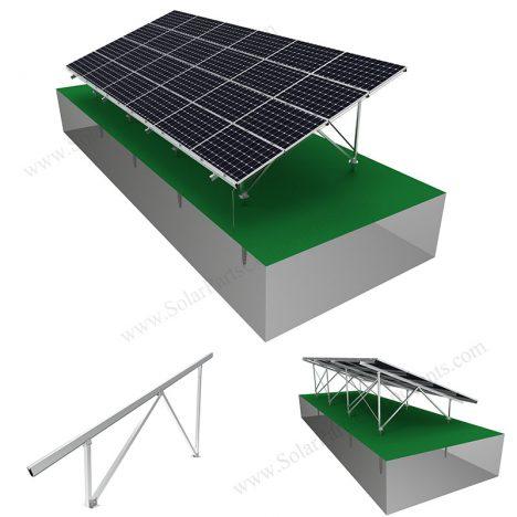 solar panel ground mount racks,SPC-GA20-4H-CW