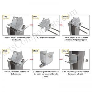 Solar Ground Installation-SPC-JA-4H-PCW-Step-1-1