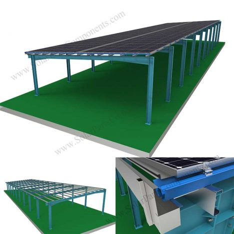 BIPV roofing for industry