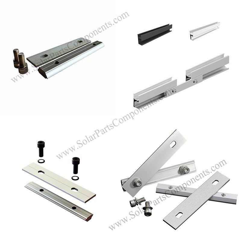 solar rail splice, solar panel rail splice, rail splice