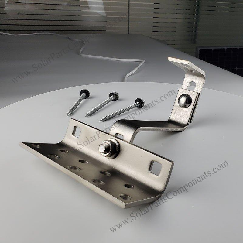 adjustable tile roof hook